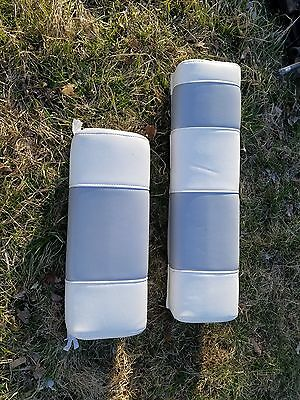 "Everglades 230 Dc & 325 Marine Boat Pair Of Seat Cushion Headrests 30""& 20"""