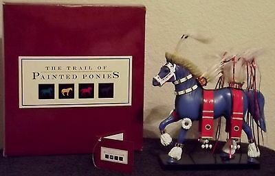 Fancy Dancer Retired Trail of Painted Ponies figurine