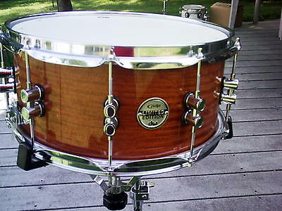 Drum Workshop PDP Limited Edition 20 Ply Maple Bubinga 6.5x14 Snare Drum