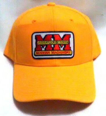 New Minneapolis-Moline Prarie Gold Modern Machinery Logo Collector's Basebal Cap