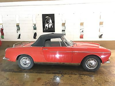 1959 Fiat 1200 Vetture Speciale Cabriolet 1959 Fiat 1200 cabriolet Vetture Speciale all original. Worldwide shipping