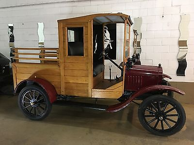 1917 Ford Model T  1917 Ford Model T pickup , very nice collector level   Runs and drives.