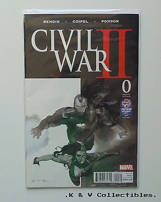 Marvel Civil War 2 Issue 0 Variant Edition NM & CHECKED