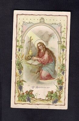 Andachtsbildchen Holy Card Santino ** S. Madeleine **