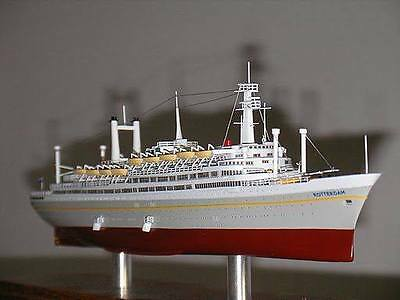 ss ROTTERDAM 1959 Holland America Line Ocean Liner Cruise Ship Model  33% off