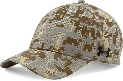 Under Armour Boys UA Digi Camo Blitzing Stretch Fit Cap