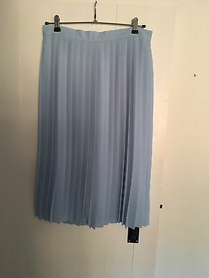 BooHoo Pleated Midi Skirt Size 12 Excellent Condition