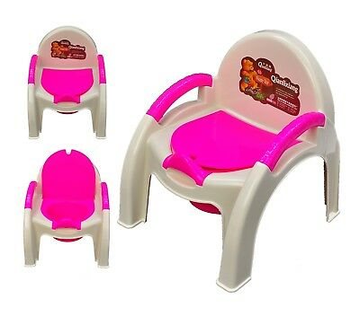 2 in 1 Baby Children's Toddler Training Potty and Chair for Boys BLUE