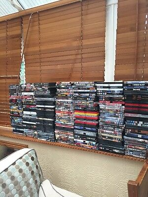 DVD Collection 478 Total Job Lot Top Titles Mint Condition