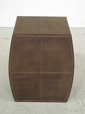LF24518: WILDWOOD Leather Accent Table or Stand