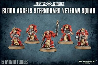 Blood Angels Sternguard Veterans Squad Games Workshop Warhammer 40.000 GW 40k