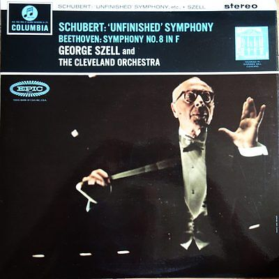 SAX 2493 Schubert Unfinished Symphony / Beethoven Symphony No. 8 / Szell / Cl...