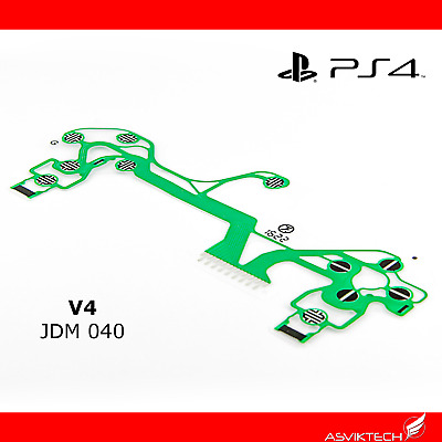 Playstation Ps4 Version 4 Controller Ribbon Replacement  Gen 4 Jdm-040 Ps4 Pro