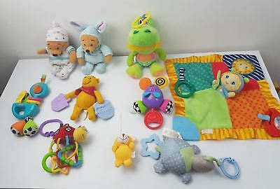 Baby Toy Bundle X10 Rattle Senory Sounds  - UK SELLER - FAST SHIPPING
