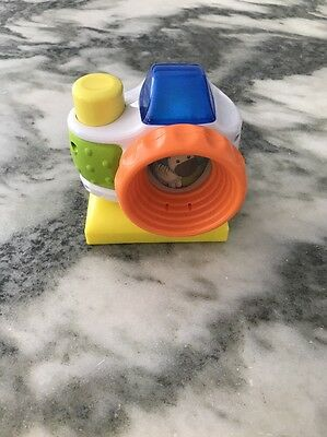 Evenflo Triple Fun Jungle Exersaucer Animal Sounds CameraToy Replacement *NEW*