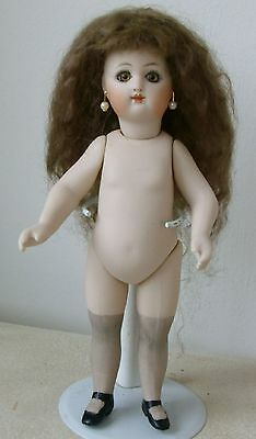 19cm ANTIQUE REPRODUCTION FRENCH RD  UNDRESSED ALL B ISQUE