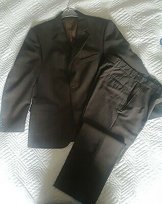 mens 2 piece suit trousers 30s and jacket size 38s