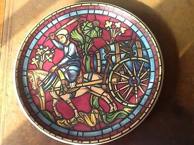 Prinknash Abbey Pottery Plate (super condition)