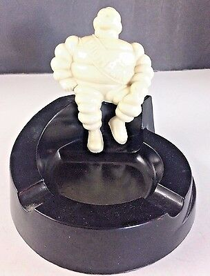 Vintage Bibendum Michelin Man Bakelite Ashtray Made in the USA Great Condition