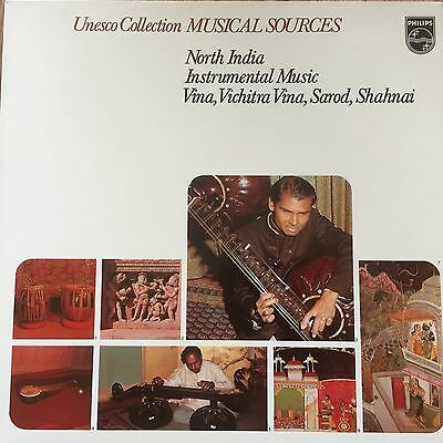 6586 020 Unesco Collection Musical Sources North India Instrumental Music