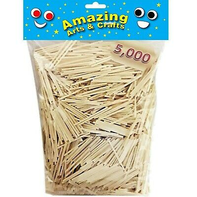 5000 Matchsticks for Craft and Modelling