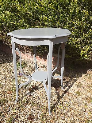 Vintage Antique Mahogany Painted Occasional Table