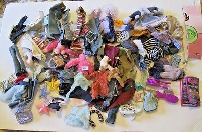 BRATZ Doll Fashions HUGE lot of 92 clothes Clothing & accessory jacket top pants