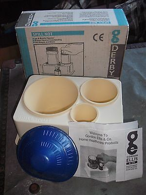 Derby Spill Not Jar and Bottle Opener Home Care Kitchen Aid    Made In UK