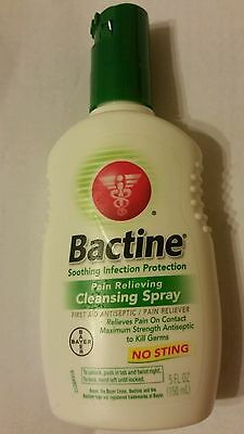 (5 PACK) Bactine No Sting Pain Relieving Cleansing Spray 5OZ 365197810055DT