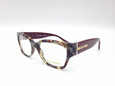 $410 Tory Burch Red Eyeglasses Frame Glasses Optical Eye Lens Bifocal Case 17