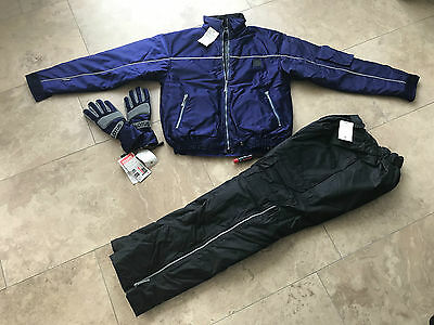 RARE! Original Lotus heated jacket, pants and gloves by Gerbing / NEW!