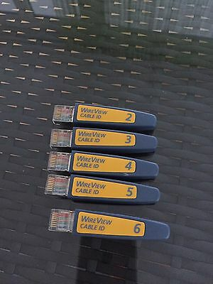 Fluke Networks WireView 2-6 WireMap Set #2 - #6 / Fluke Cable ID