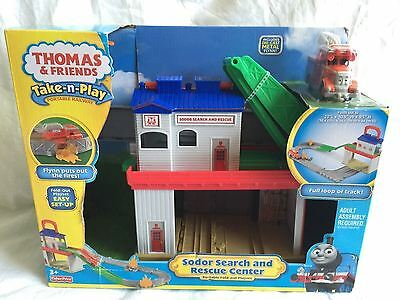 Thomas And Friends Take N Play Portable Fold Out Play Set Sodor Search Rescue