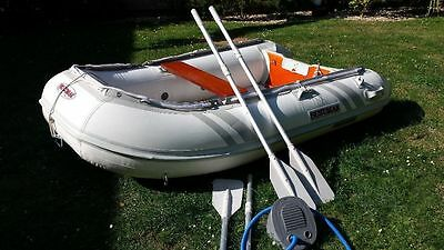 Suzuki suzumar inflatable dinghy with 5hp 4 stroke outboard motor
