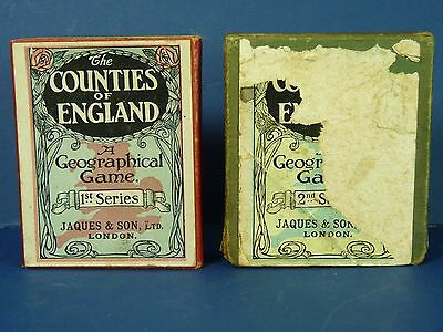 The Counties Of England A Geographical Game 1st & 2nd Series Jaques & Son