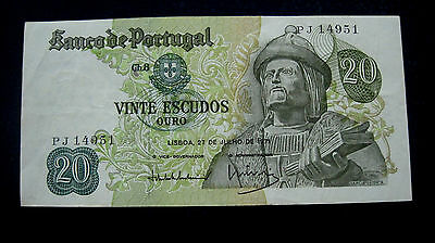 Portugal Banknote  1971