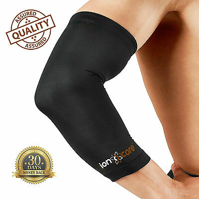 ELBOW COPPER COMPRESSION SLEEVE - 88% copper-nylon elbow support and pain relief