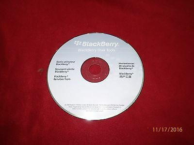 BlackBerry User Tools PC CD-ROM 2006