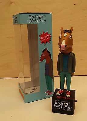 New in Box BoJack Horseman Promo Talking Bobblehead - Netflix Series Original