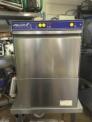 Commercial Industrial Glass Washer Nelson SC40AWS-3  400mmx400mm Basket