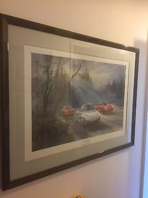 Alan Fearnley Very Rare Porsche 911 959 Commemoration 1988 Ltd prints