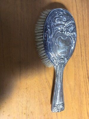 Silver Clothes Brush