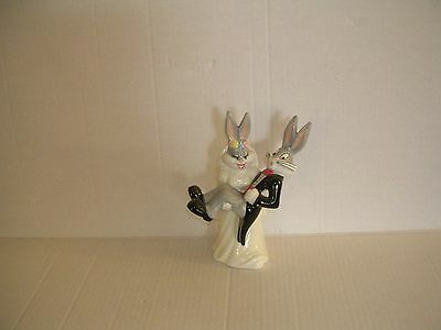 Bugs Bunny Bride and Groom Wedding Cake Topper