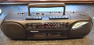 Panasonic RX-FT530 Radio Double-Cassette Player / Recorder   Stereo   Boombox