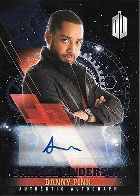 Doctor Who Timeless Autograph Samuel Anderson / Danny Pink 15/25