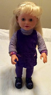 Playmates Toys Amazing Alley Doll Clothes Purple Outfit Black shoes