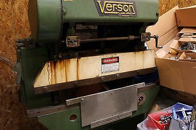 Verson 4Ft Press Brake