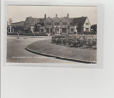 Goring-By-Sea Mulberry Hotel Real Photograph P/M Worthing 1963 Wardells Brighton