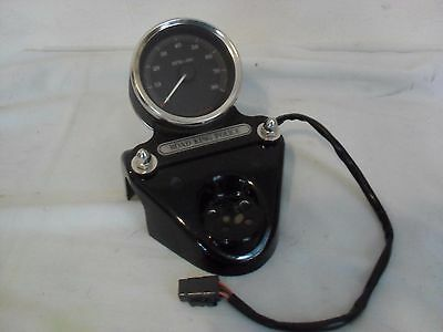 Harley Flhp Headlight Nacelle Cover & Tachometer Touring Road King Black