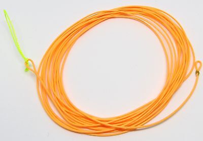 "11'6""' Tenkara Floating Line / Leader ( 5:5 6:4 ) Hi Vis Orange UltraLight"